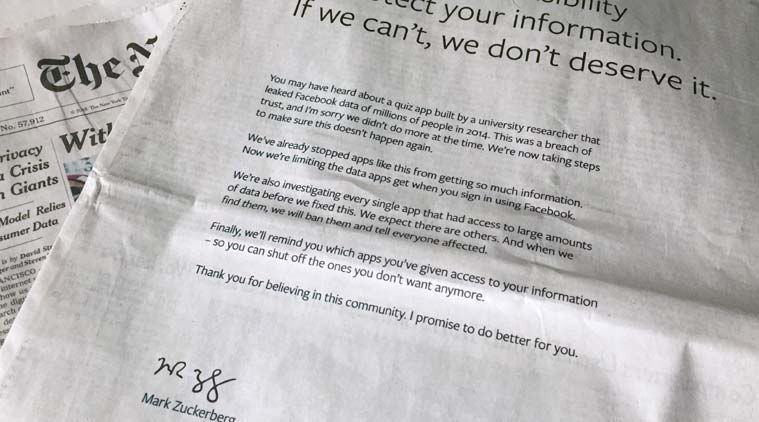 facebook s apology letter signed by ceo mark zuckerberg in uk us